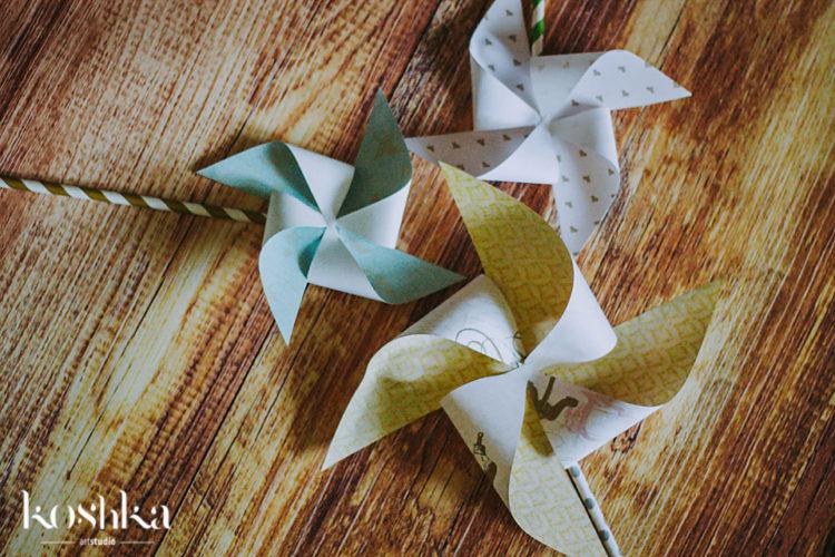 3 pinwheels